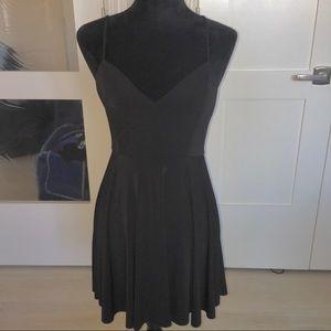 Black Flowy Kimchi Blue Summer Day Dress 🖤